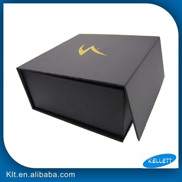Customized Cardboard folding paper gift box with magnet