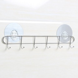High Quality Factory Directly Vintage Wall Coat Rack Hook With 3M Sticker