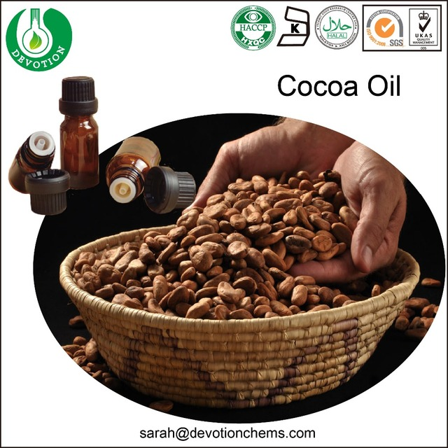 Therapy Cosmetic Skin Care Food Application Cocoa Oil Cocoa Butter