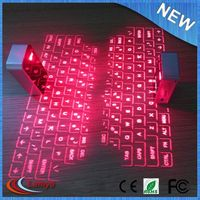 red led display computer keyboard