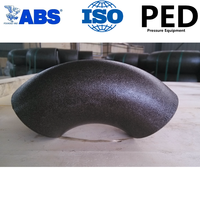 Sample free! Carbon steel pipe elbow 90 degree dimensions with ABS certification