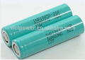 rechargeable 18650 li-ion battery INR18650-20r 2000mah 3.7V for samsung