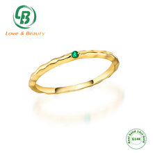 14k-18k Solid Gold Woman Yellow Gold Jewelry Gold 18k Real Ring