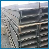 Black Hot Rolled SS400 Channel Carbon Beam with American Standard Steel Structural Bar for Metal Building Material