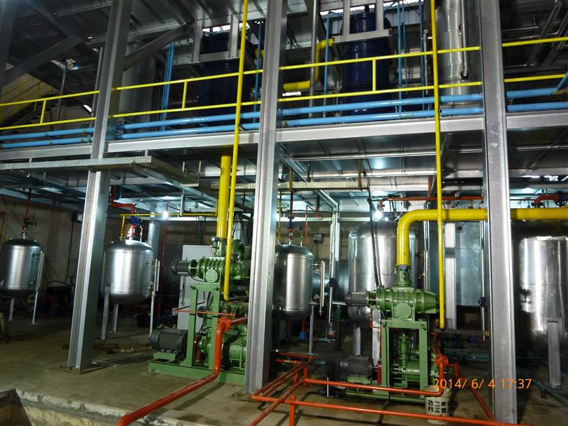 Continuously into the waste oil refined oil products used engine oil recycling machine in india Cryogenic distillation
