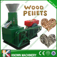 CE approved outdoor used sawdust pressing machine/ wood pellet press machine