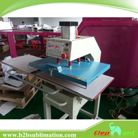 Hot sell high quality Automatic Pneumatic flat Sublimation heat transfer press printing Machine for sale