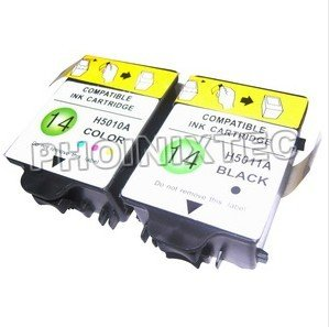 Compatible Ink Cartridge for HP14 ( C5010 / C5011) Series