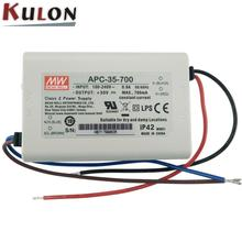MEAN WELL AP-C-35-500 35w 500mA led driver indoor lighting power supply