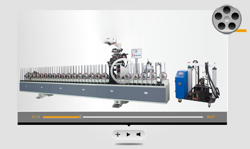Automatic woodworking Anti-UV industrial coating and laminating machine