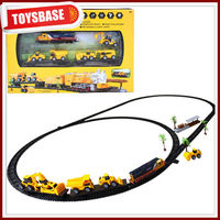 Construction battery operated train set