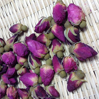 Eco - Friendly Dried Pink France Rose Flower Tea