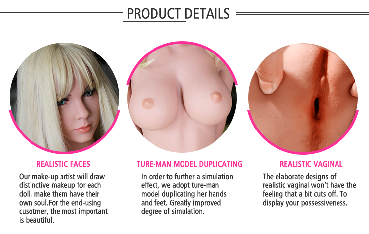 Lifelike Perfect Body165CM Height H Cup Silicon Doll Realistic