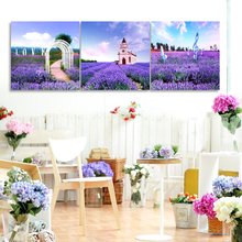 Hot Sale Beautiful Handmade Natural Scenery Art Oil Painting On Canvas