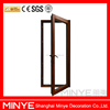 interior single swing aluminum wood composite windows and doors