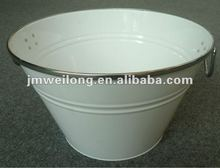 15 Liters Party Tub with Stainless Steel Rim