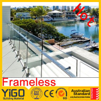cheap glass stair railingdeck railing\deck stair handrail designs