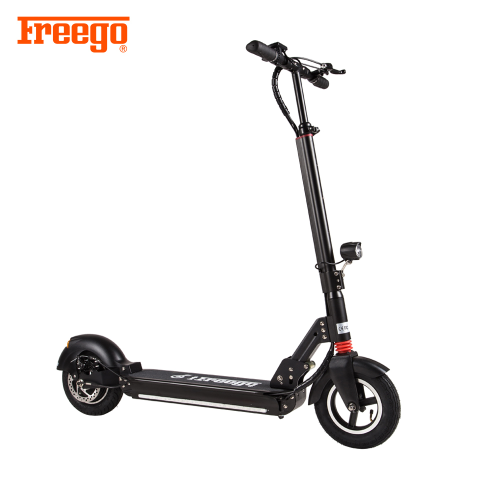 2018 Removable Battery 10 Inch Wheel Foldable <strong>Electric</strong> Scooter with LCD Display