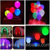 Double 11 sales promotion Led light up balloons,luminous Latest LED balloons for <strong>christmas</strong> and new year
