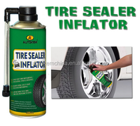 In emergency used tire sealer inflator, tyre repair spray, for car, motor and bike care product, 400ml & 200ml aerosol spray