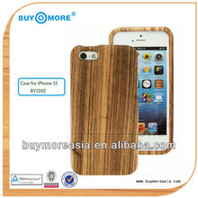 Mobile phone accessories,wooden case for iPhone 5, custom case for iPhone 5