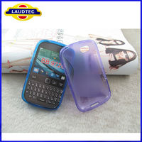 2013 New Product Colorful S Line TPU Gel Case For Blackberry 9720