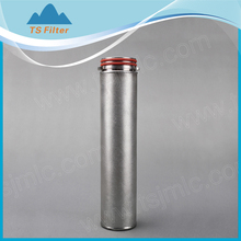 1 micron SUS 316L metal powder sintered filter for oil filtration