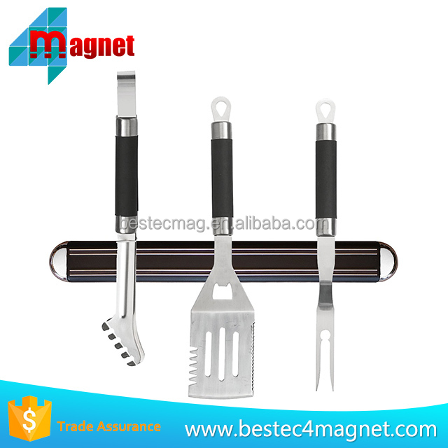 Highest Quality MAGNETIC KNIFE HOLDER/Strip by Inspired Home Living - High Energy Magnets - Knives Stay Firmly In Place