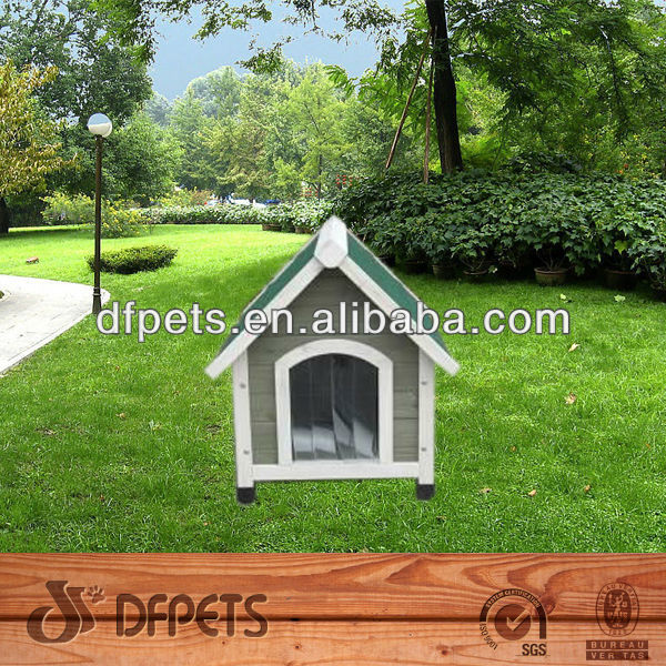 Fir Wood Timber Dog Kennel DFD014