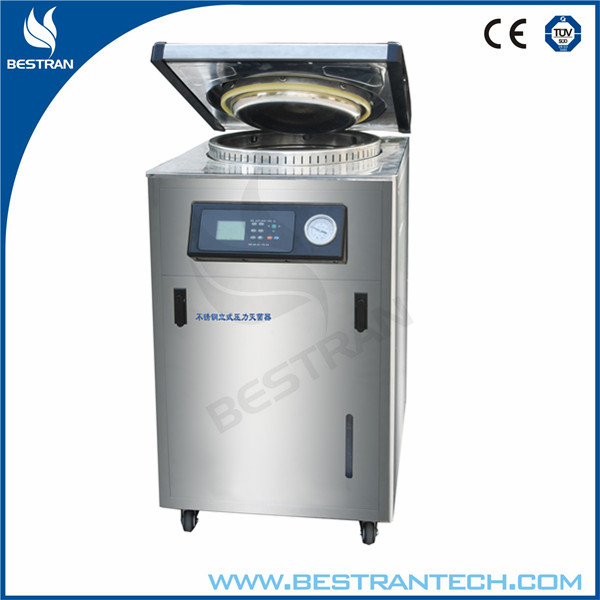 BT-80A China factory sale Vertical type 80l medical autoclave with printer, medical equipment uv sterilizer, medical sterilizer
