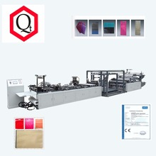 New Design automatic multifunctional Different non woven fabric Zipper bag making machine
