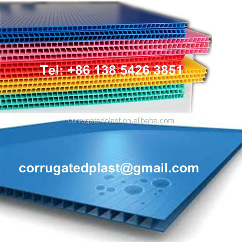 Corrugated Plastic Layer Sheets for pallets