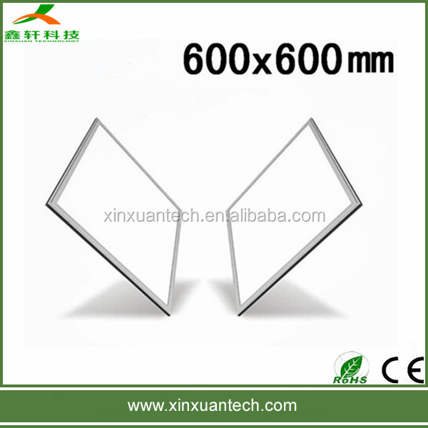 commercial lighting, Epistar SMD 600x600 54w recessed square led panel light