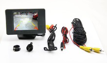 LCD Car Monitor Colorful Image Parking Sensor Camera Rear View System Car Reversing Aid