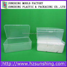 Wholesale Price PP Material Soft Plastic Cotton Buds Box