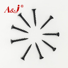 China good quality drywall screw black phosphate