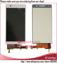 china supplier Pink Color for huawei ascend p6 lcd Display and Touch screen digitizer