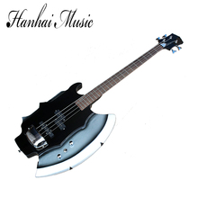 Chinese wholesale factory custom 4 string SIMMONS AXE 21 frets with electric bass guitar and can be customized as your request