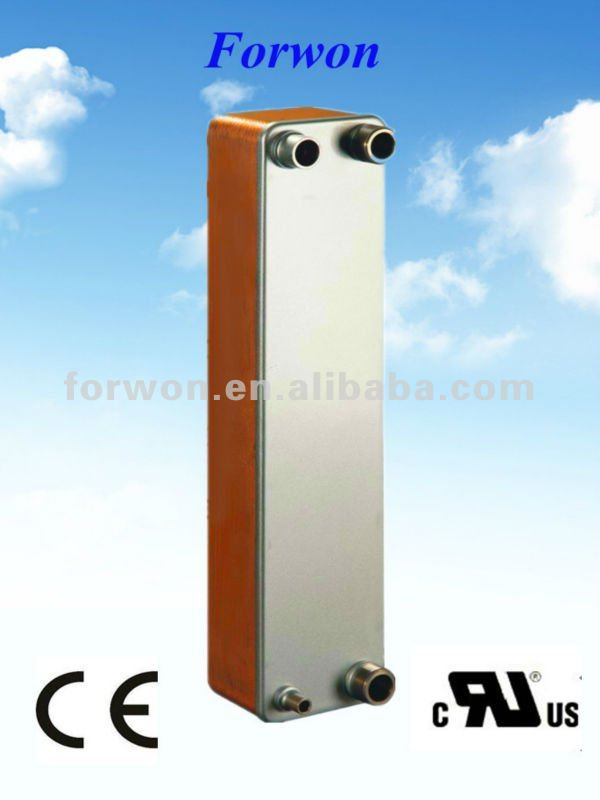 FHC060 soldering plate heat exchanger (Equal Swep V80) for HVAC&R, Industrial cooling/heating, Oil cooling