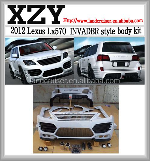 Bodykit For Toyota Lexus Lx570 2008-2012,Lexus Invader ...