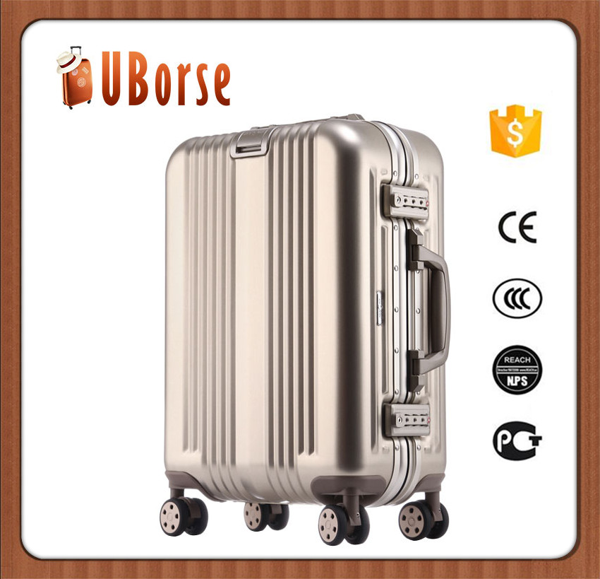 17''20''24''28'' Original factory aluminium luggage case/aluminum carrying case/aluminum metal suitcase