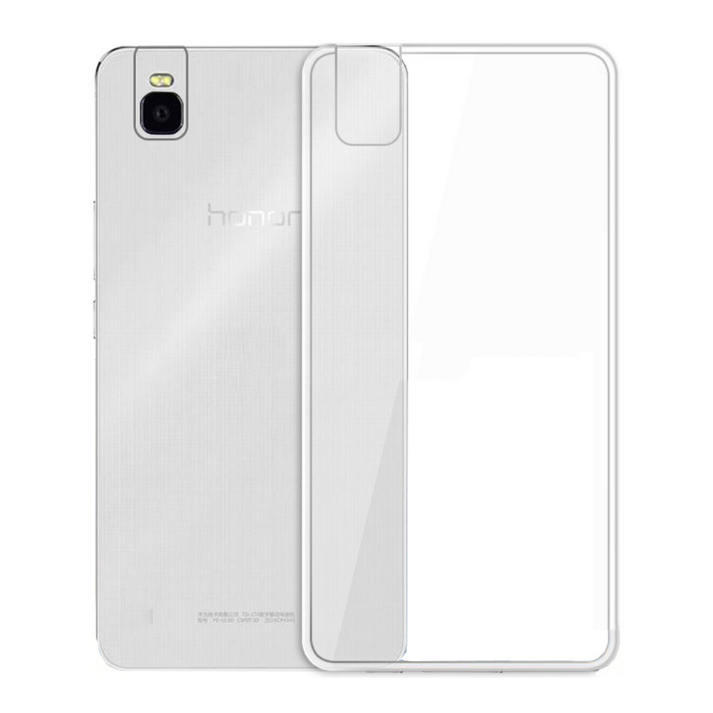 EXCO imported TPU material clear wholesale cellphone case shell for Huawei honor 7i