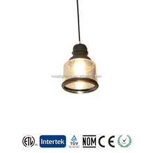 Indoor Decorative Modern Glass Lamp Cover Pendant Lightdustrial Vintage Restaurant metal pendant lamp