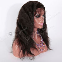 low price good quality indian remy lace front wig for black women