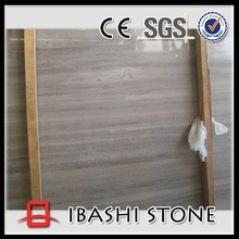 Natural Chinese grey wood grain marble