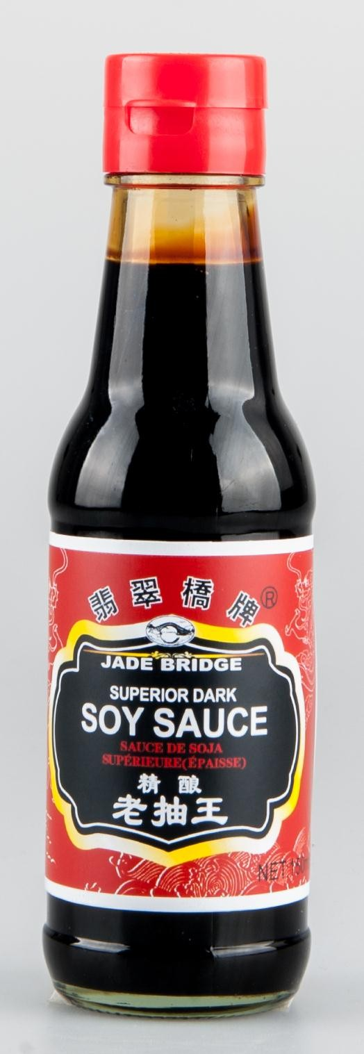 Hot selling high quality No Preservative Dark Soy Sauce in 150ml