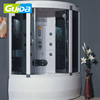 Guida brand 2018 1200*1200mm luxury spa massage steam shower room cabin