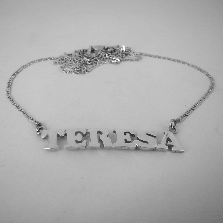 NAME JEWELRY NECKLACE