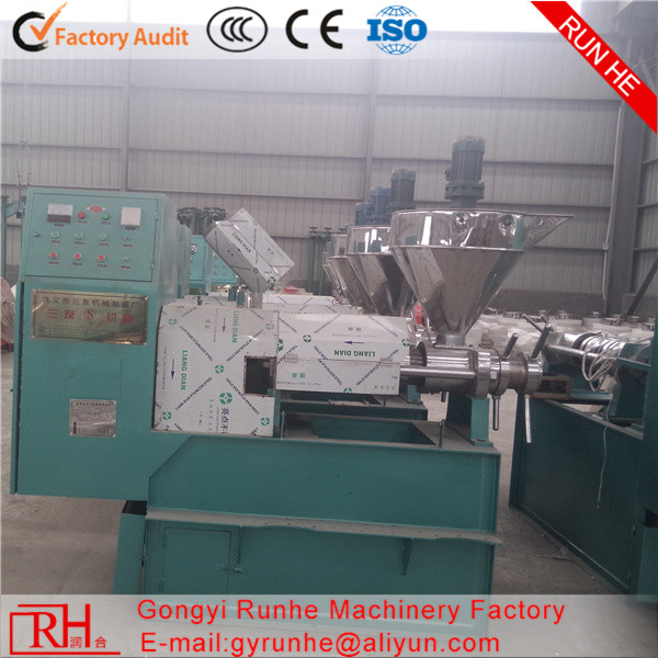 Runhe Manufacture ISO CE rice brain oil machine/oil press machine/olive oil machine