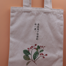 Eco-friendly reasonable price school shopping blank canvas bag